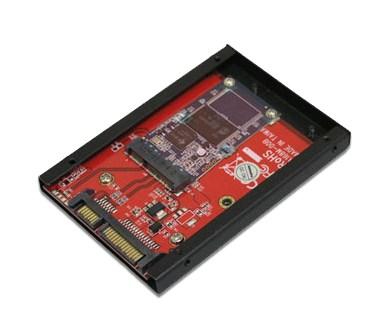 Addonics Flash Drive Conversion Kit - adapter SATA dla dysk�w mSATA