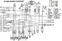 Yamaha DT 125r(99r.) - podłączenie kabli.