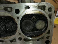 Passat b5 silnik ahl 1.6 - Głowica uszczelka pierścienie silnik Ahl