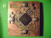 """uŚciąga"" - Atmega32, LCD i karta pamięci"