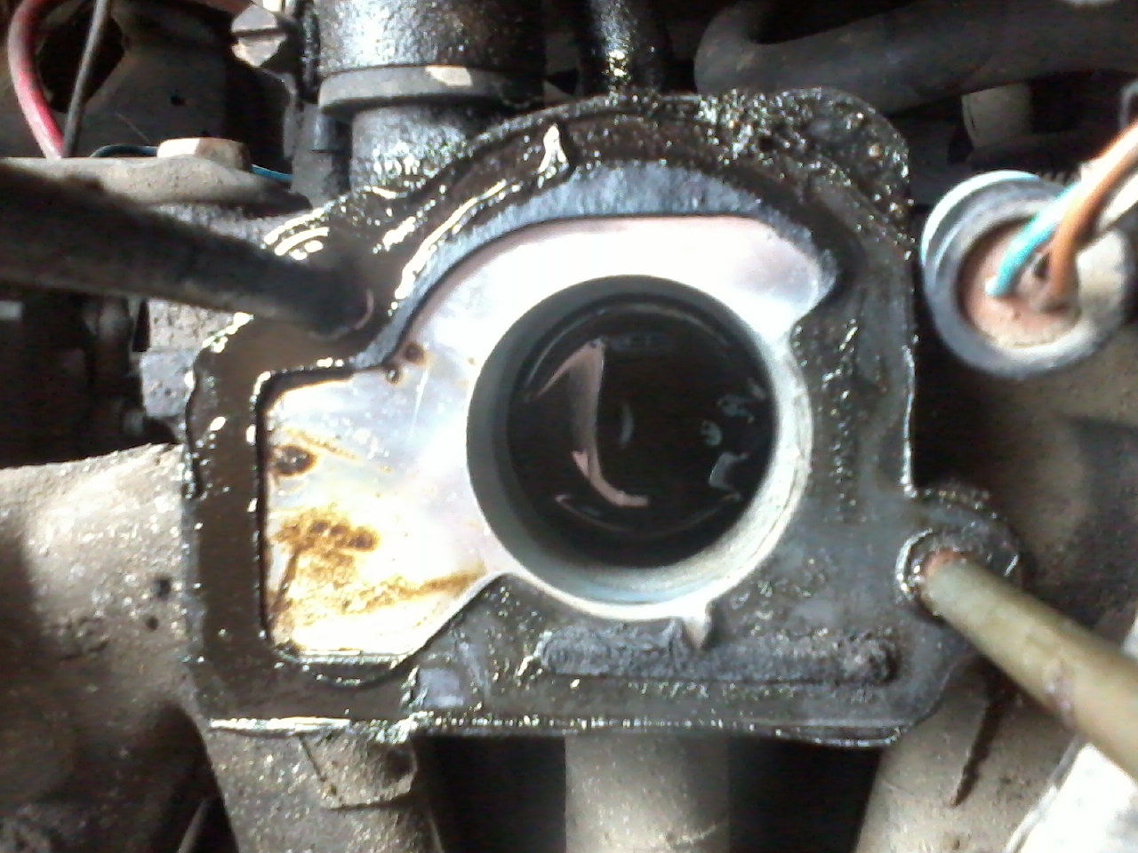 Vectra A 95 1.6i LPG, kr�ci, nie pali, iskra jest