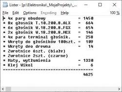 """Kolumny DIY + """"dedykowany"""" im LM3886 2x30W o dobrym brzmieniu."""