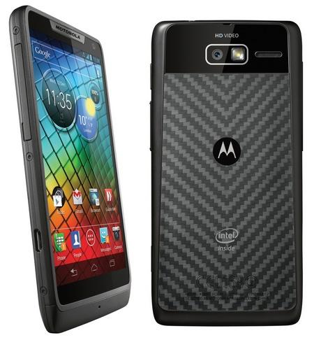 Motorola RAZR i dostaje 2GHz Intel Atom CPU