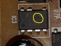 Pralka Daewoo DWD-MU1051A - uszkodzony programator