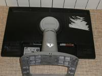 Samsung SyncMaster 2443FW działa chwilę, biały pasek