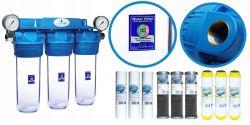 Zmiękczacz wody vs wstępny filtr wody