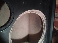zg40 rozwiercone otwory głośnikowe