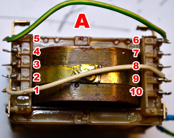 Transformator UNITRA ZATRA TS 120/19 - pod��czenie wyprowadze� - jak?