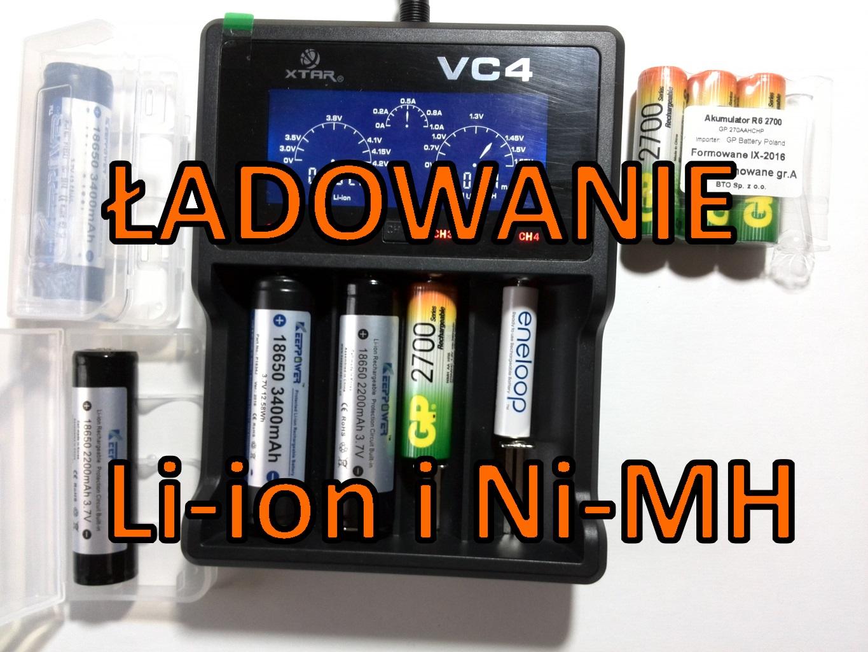 Ładowarka akumulatorów Li ion i Ni MH #17 edu elektroda.pl