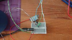 Przepuszczanie prądu na tranzystorze