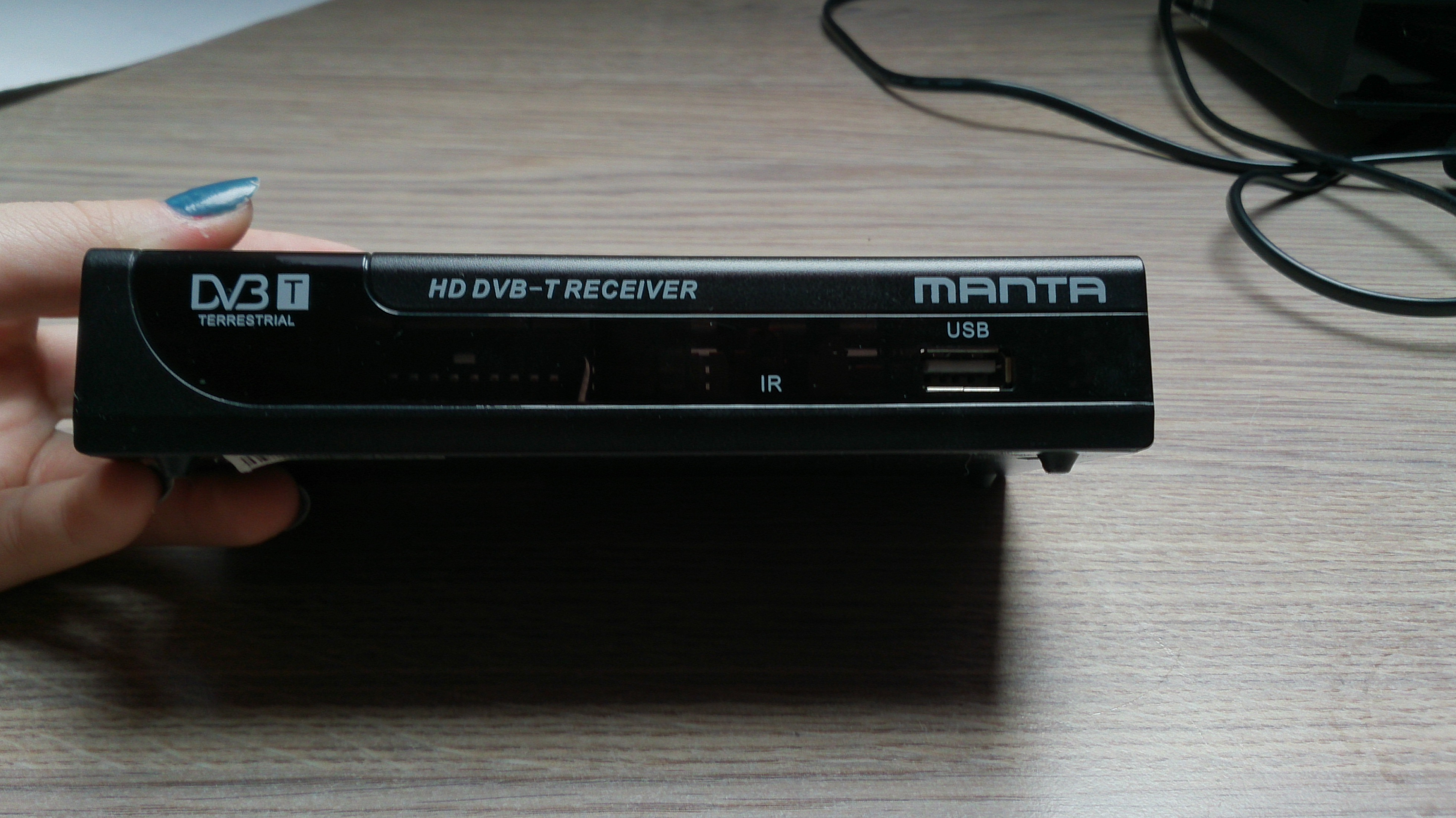 [Sprzedam] Dekoder Manta HD DVBT07