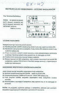 Radioodbiornik uniwersalny działa tylko na 10VDC