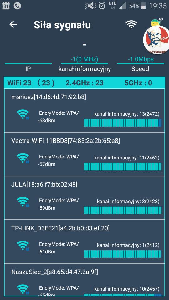 Vectra 150 Mb/s - modem router - elektroda pl