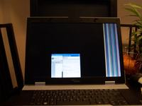 Fujitsu Siemens V6505 kłopot z matrycą