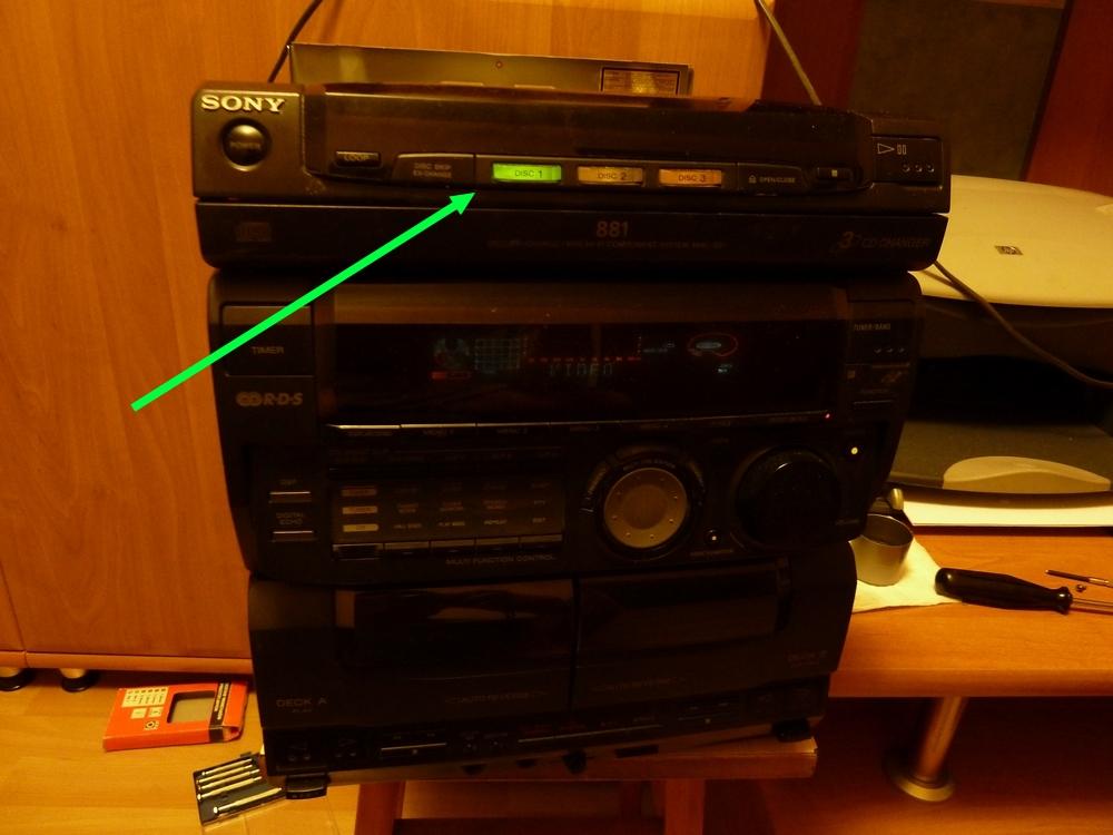 Sony MHC 881 - Czy mo�na 'odci��' funkcj� CD?
