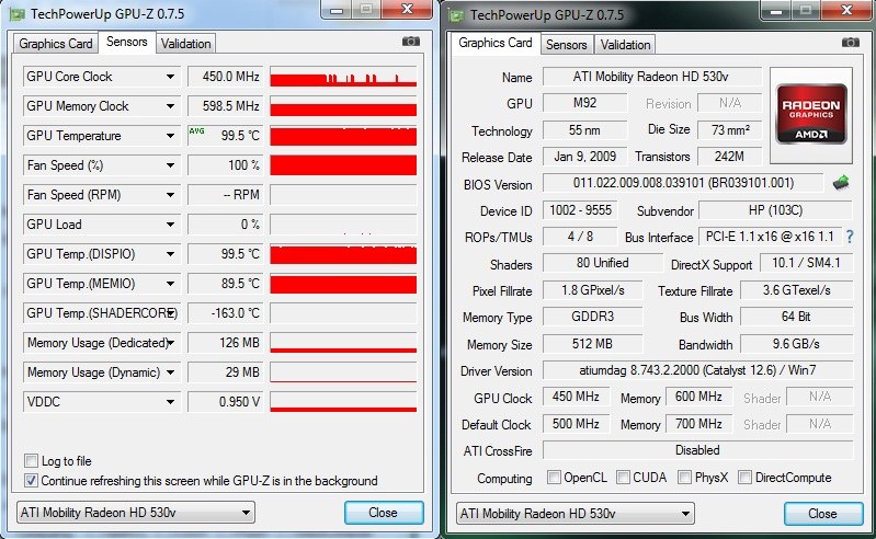 ATI RADEON HD 530V MOBILITY DOWNLOAD DRIVERS