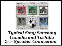 Yamaha NX-SW301 - rozszyfrowanie pinów i podłączenie do PC