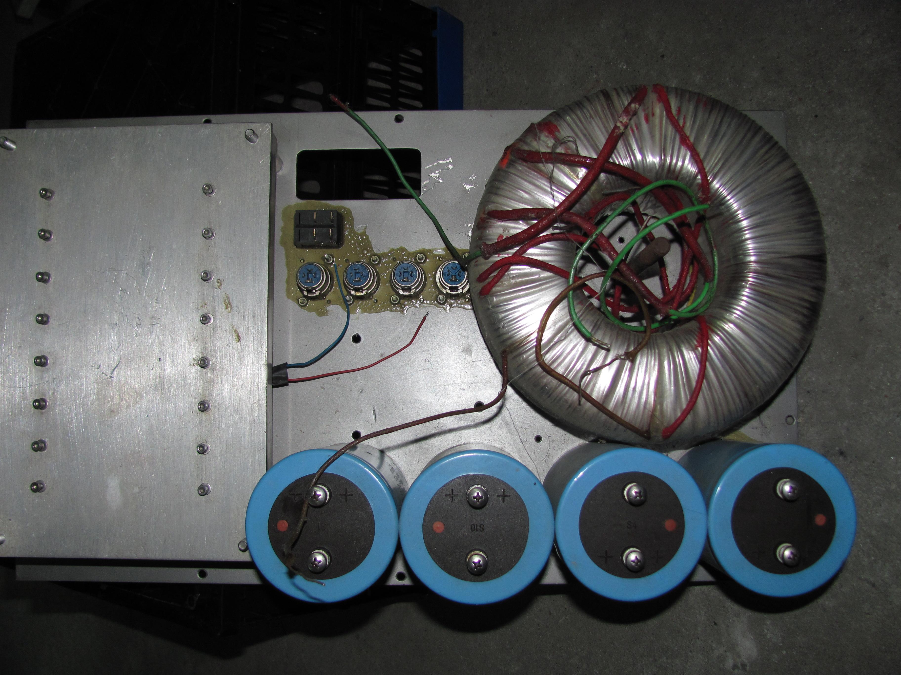 [Sprzedam] Transformator toroidalny TT1500VA 2x60V 1x15V