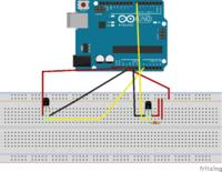Arduino - Odczyt temperatury z czujników - analogowego i cyfrowego.