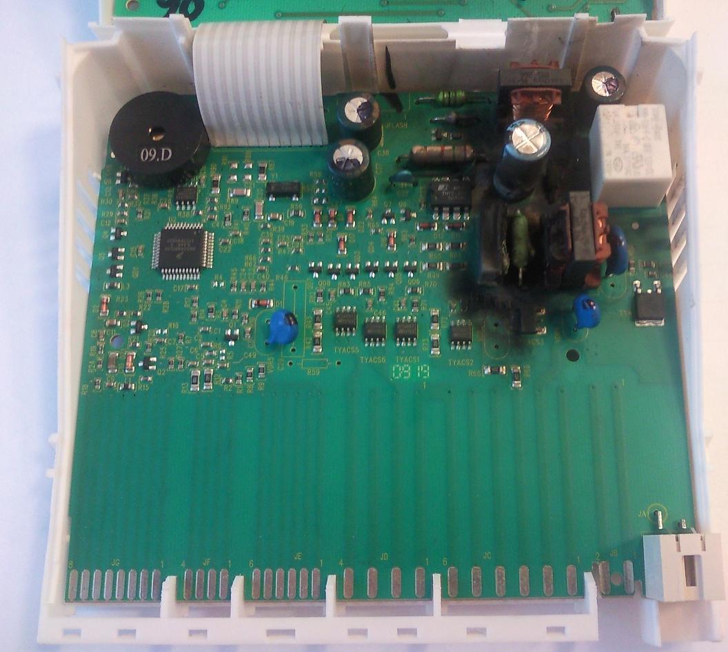 Zmywarka Electrolux ESI47020X - b��d 0, brak oznak �ycia, potrzebny schemat.