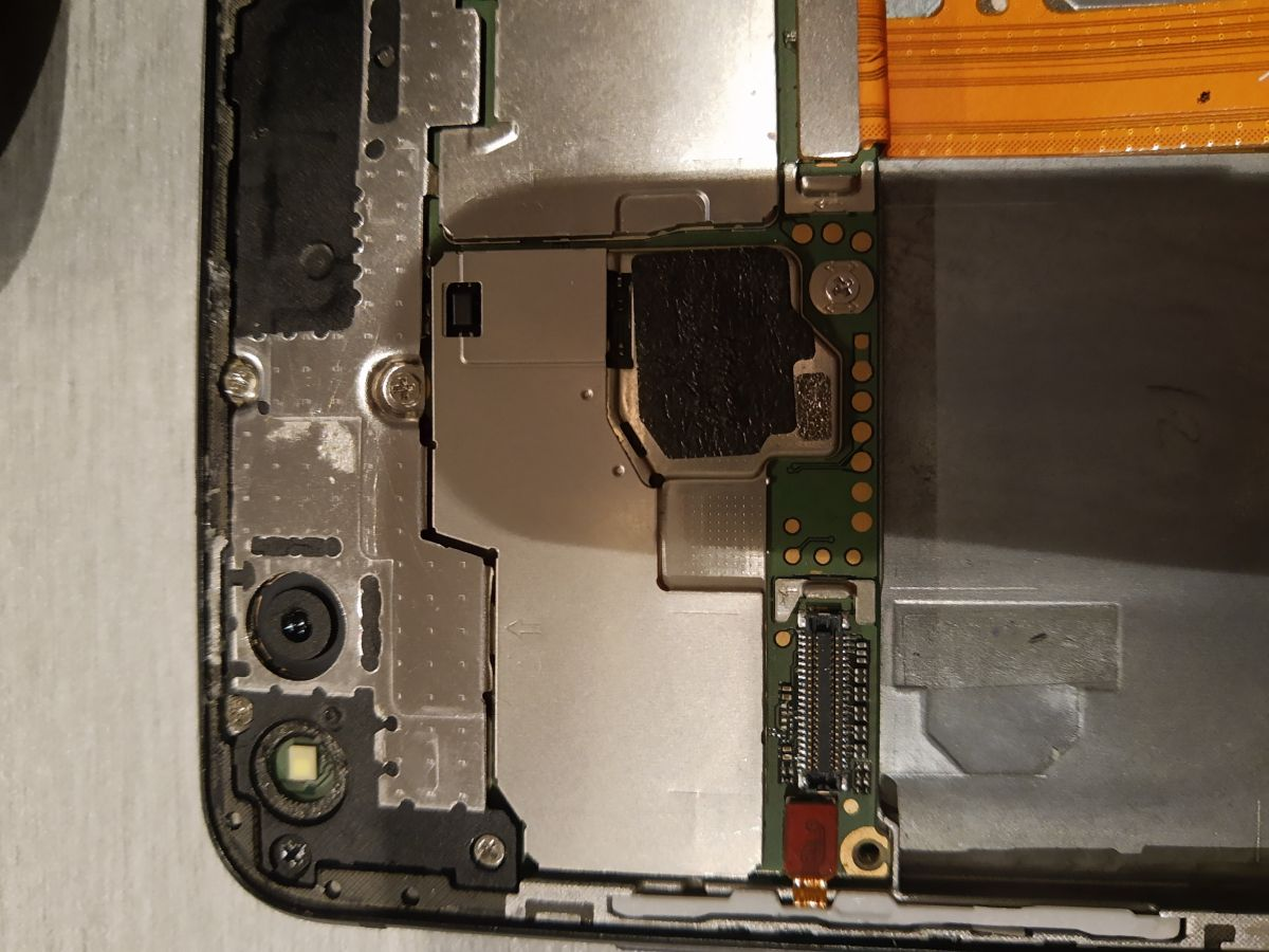 Huawei p10 lite dotyk po wymianie wyświetlacza nie działa