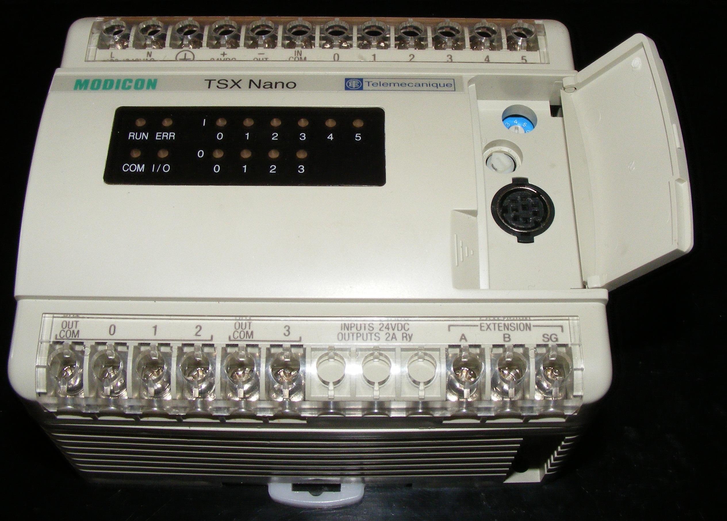 [Sprzedam] Sterownik PLC TSX-07 + kabel do programowania