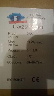 EMOD LA100L - Prawidłowe podłączenie silnika 3f.