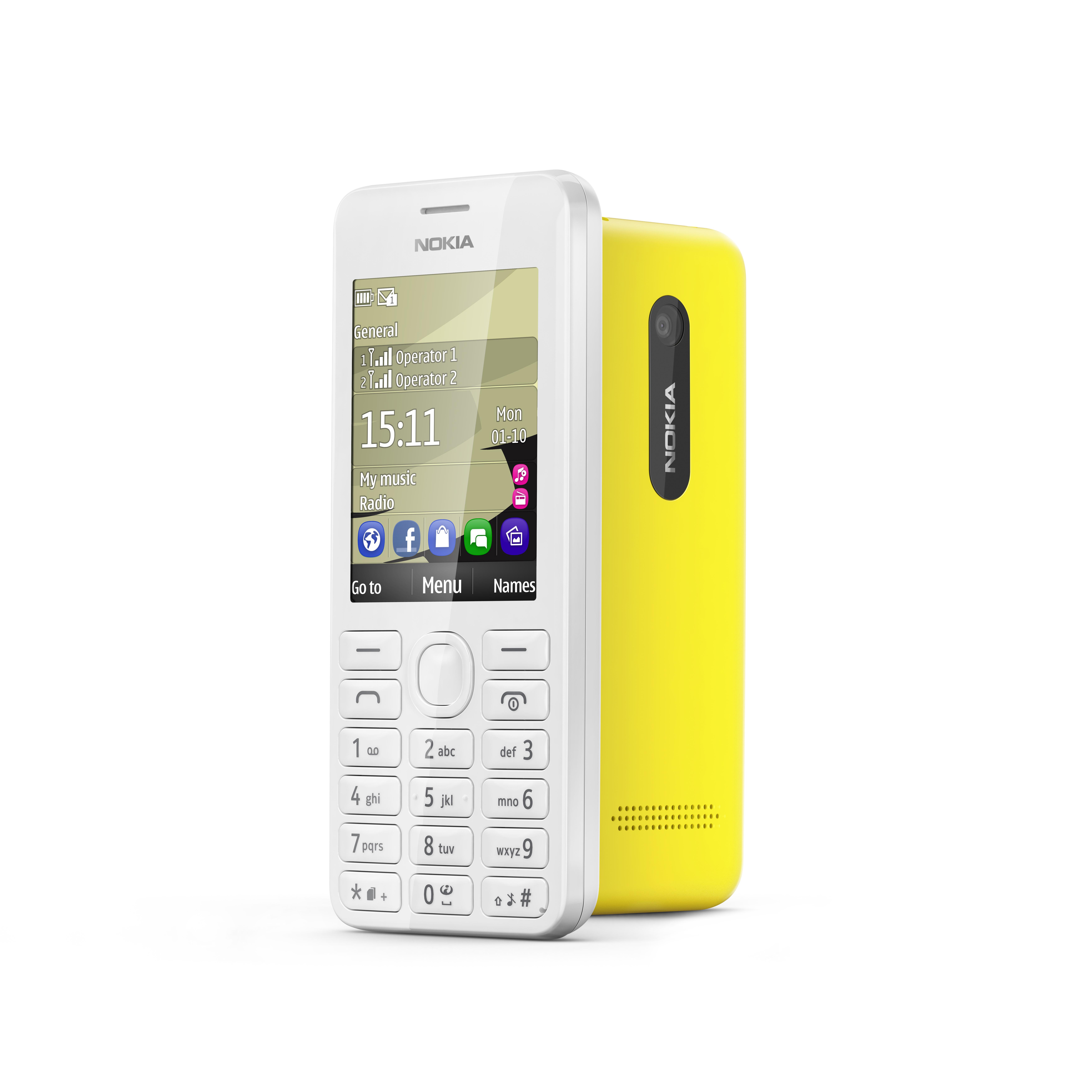 Nokia Asha 206 - prosty, tani telefon kom�rkowy z systemem S40 i Dual SIM