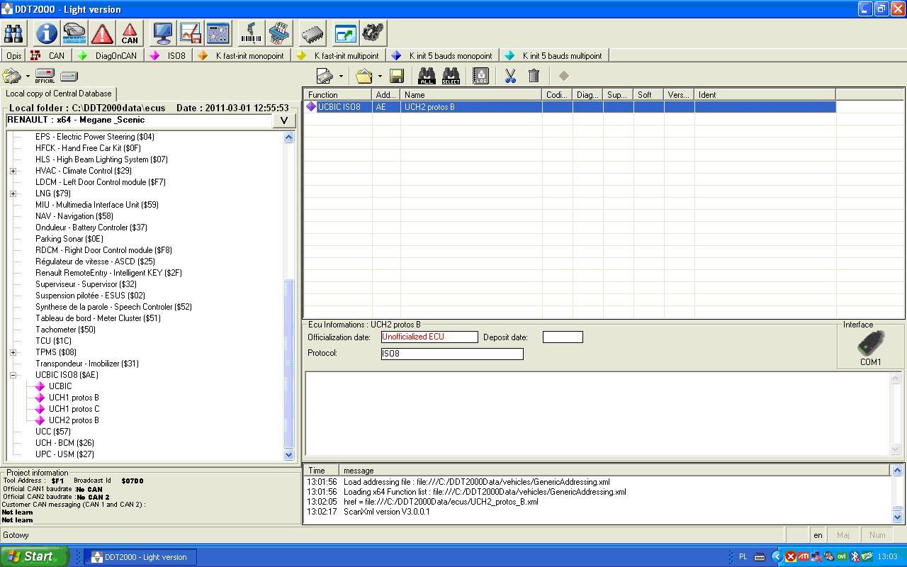 logiciel ddt2000 renault