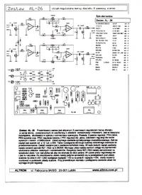 Projekt filtrów Bessel'a na TL072 w systemie 2.1