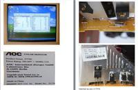 Monitor AOC FT700 - rozciągnięcie obrazu, poduszka i brak regulacji H