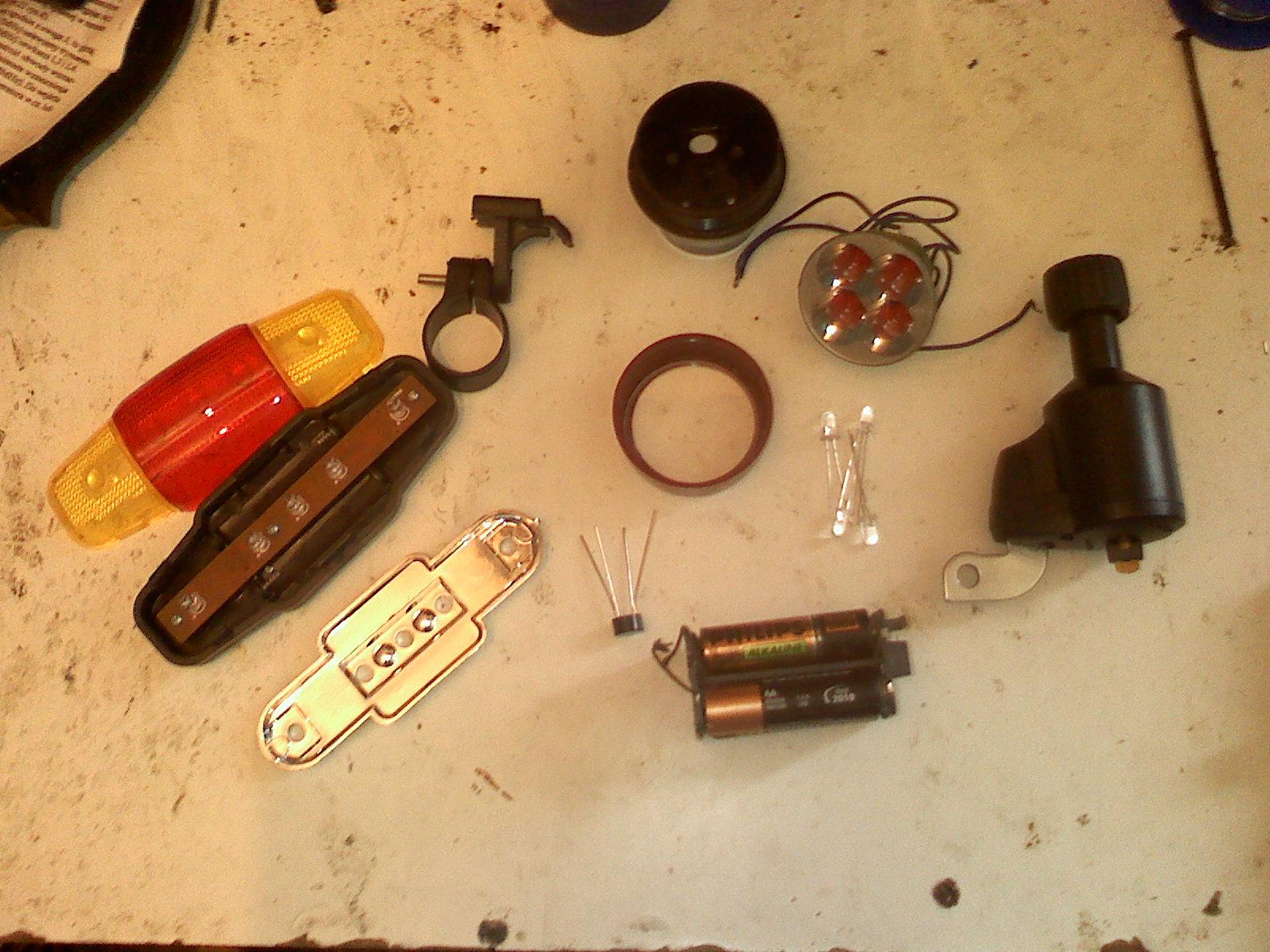 O�wietlenie rower�w-modernizacje, naprawy, tuning, w�asne konstrukcje.