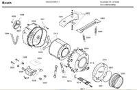 Czy Bosch WAA16160PL/01 ma rozkręcany zbiornik?