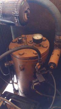 Kaeser SK19 - Wymiana oleju w kompresorze - sprężarka śrubowa