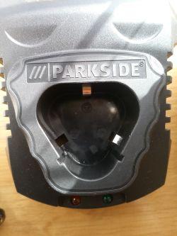Akumulator Parkside X12V ładowanie w samochodzie