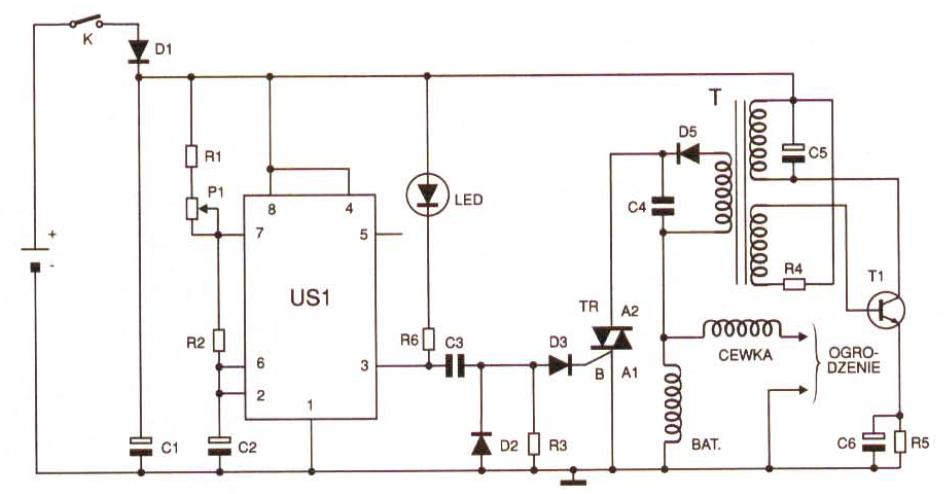 Elektryzator do ogrodze� elektrycznych - Dla byd�a