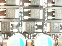 MSI K9A2 Platinum - Padni�ta sekcja zasilania.