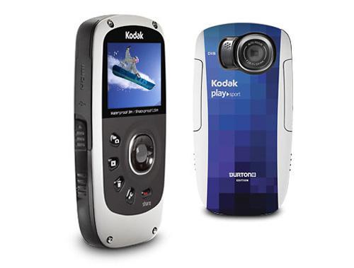 PLAYSPORT Zx5 od Kodaka - wodoodporna kamera odporna na wstrz�sy