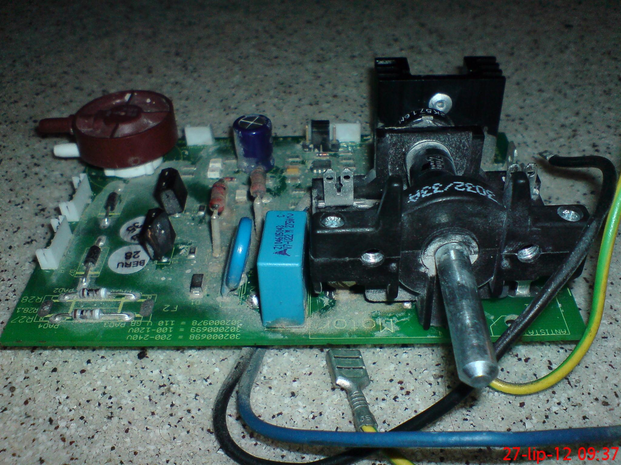 VCU 40 Hilti odkurzacz schemat elektroniki modu�u