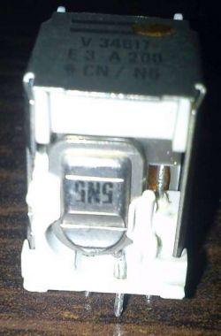V34617 E3 A200 CN / N6 - identyfikacja przekaźnika, zamienniki, schemat