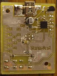 Termometr RGB na diodach WS2812B
