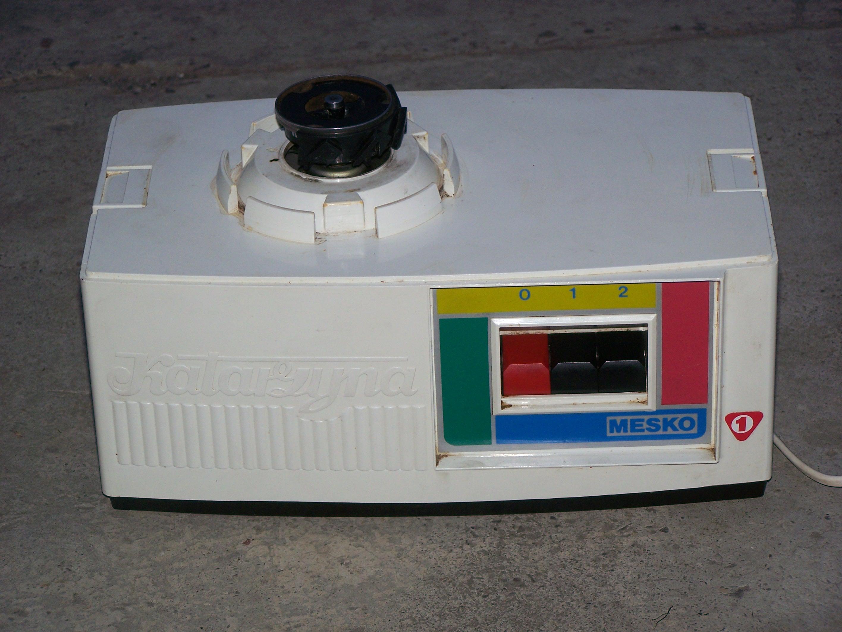 MESKO Sokowirówka KATARZYNA przepalony kondensator