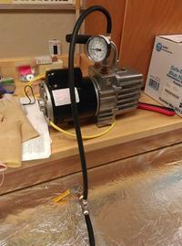 Komora do testów elektroniki pracującej na dużej wysokości
