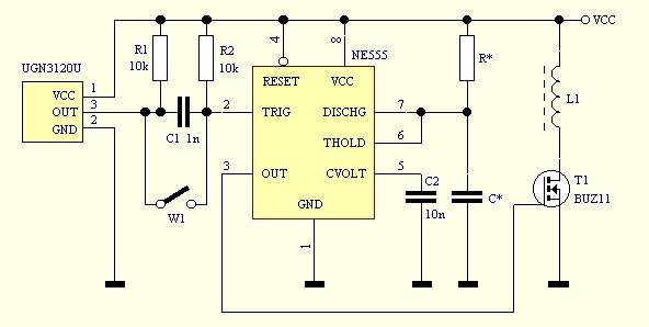 silnik Adamsa - potrzebny dobry schemat sterowania