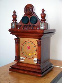 Analogowy zegar cyfrowy