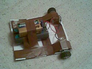 Budowa robota jeżdżącego (samochód na ster)