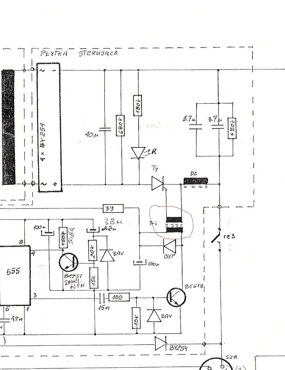 iup-12 - identyfikacja transformatora