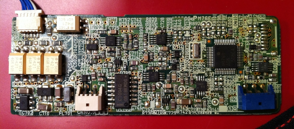 Projektor Panasonic PT-AE700E - czyszczenie i lampa