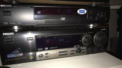 Jak podłączyć DVD Philips 712 do wzmacniacza Philips FR 965