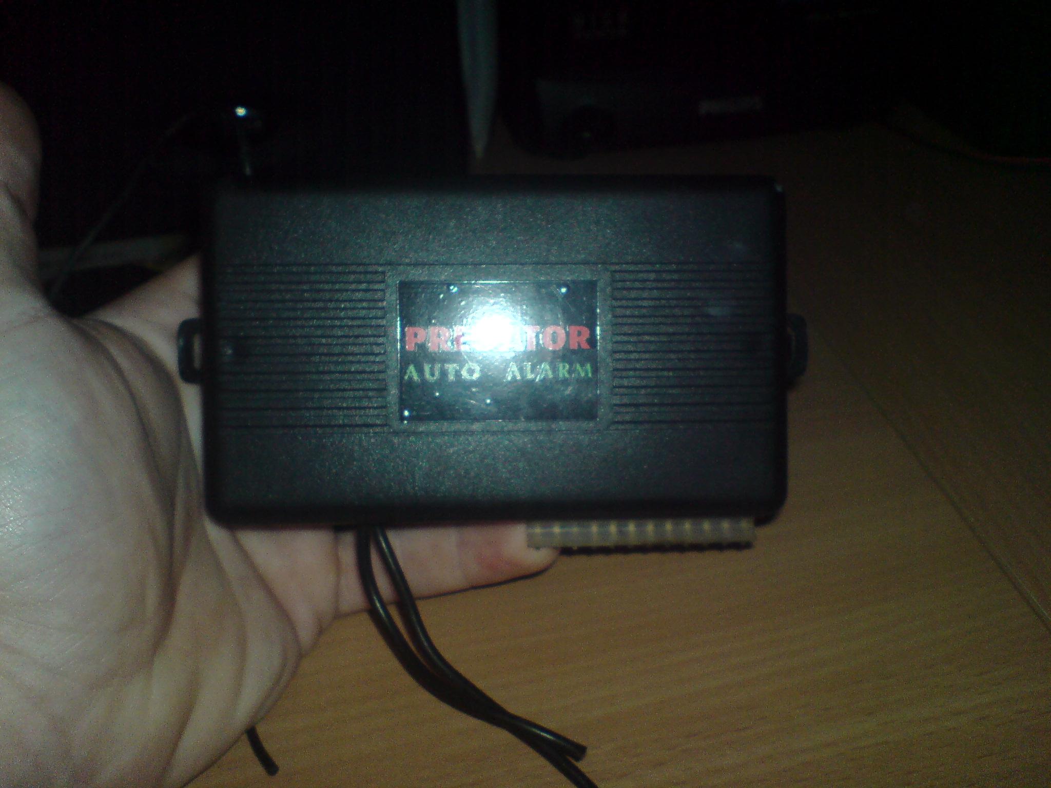 Predator auto alarm - Schemat pod��czenia